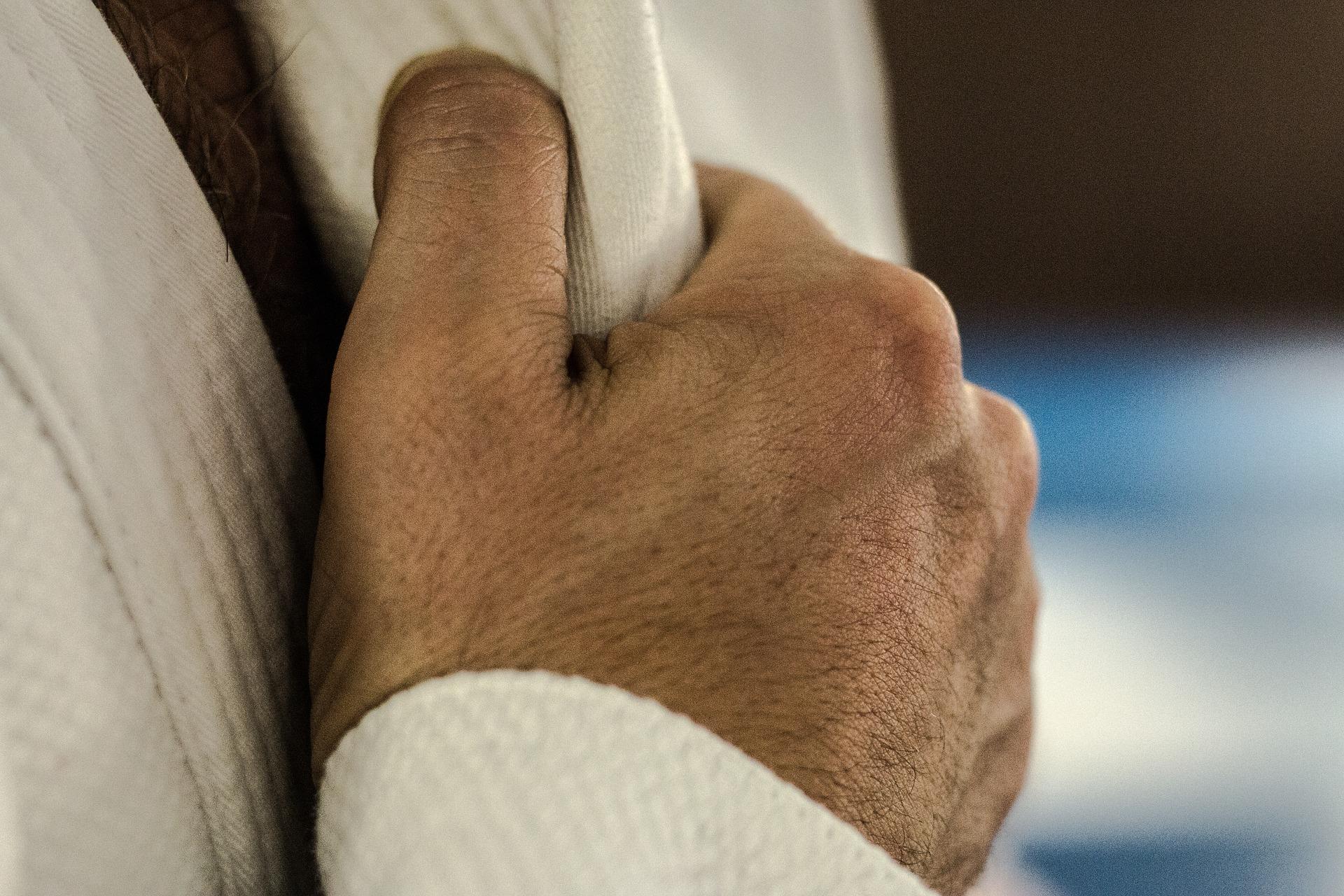 judo prise kimono